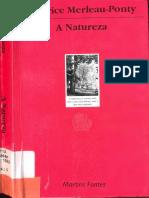 Maurice Merleau Ponty a Natureza Portugues Proc