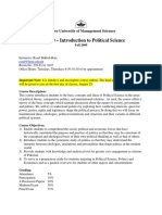 POL 100 - Introduction to Political Science