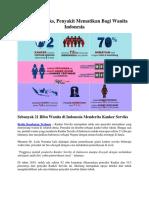 Kanker Serviks, Penyakit Mematikan Bagi Wanita Indonesia