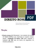 1.ª e 2.ª Aulas D. Romano