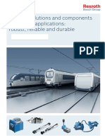 Rexroth Solutions and Components for Railway
