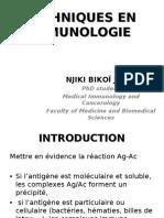 Techniques en Immunologie