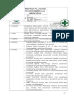 8.1.2.3.SPO Pemantauan Pelaksanaan Prosedur Pemeriksaan Lab
