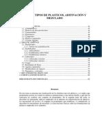 Tipos de Plasticos Aditivacion y Mezclado