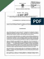 Decreto 731 de 2017