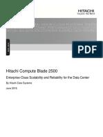 Hitachi White Paper Compute Blade 2500