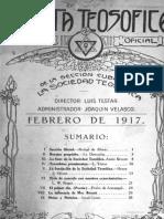 Revista Teosofica Havana 1917 1918