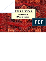 Rumi - Selected Poems - Jalal Ad-Din Muhammad Rumi