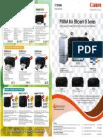 Inkjet Product Range Broucher