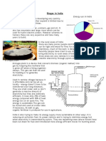 Case Study Biogas in India