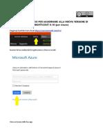 Guida Aggiornamento Nightscout Per Azure