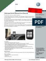 Volkswagen Genuine Bluetooth Touch Phone-Kit