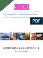Chimica Lez. 1