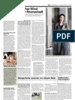 Article Basler Zeitung 17 août 2010