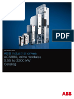En ACS880 Drive Modules Catalog 3AUA0000115038 RevI