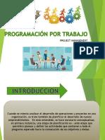 Programacion Por Trabajo Diapositivas