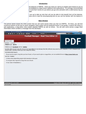 FMRTE Guide pdf   Button (Computing)   System Software