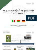 La Transferencia de La Experiencia Mexicana en Materia de Tratamiento Hacia Bolivia_Ing. Hernández