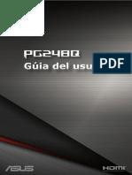 Manual Asus Rog Swift PG248Q