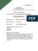 11. Analisa Jabatan Supiah, Amd.kep (Perawat Pelaksana Lanjutan)