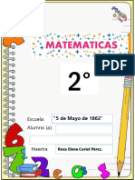Libro de matematicas 2°