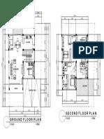 Model House 1 Floor Plan