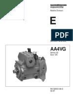 A4VG 32 Series Size 125_Service Parts List