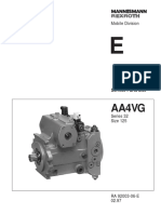 A4VG 32 Series Size 125_Service Parts List