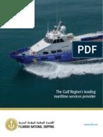 Fujairah National Shipping Brochure