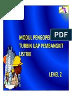 Pengoperasian Turbin Uap Pembagkit Listrik