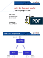 IT security in the real world - A value proposition