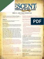 Descent Second Edition Faq v16