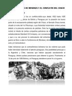 La Conferencia Del Chaco y El Conflicto Del Chaco