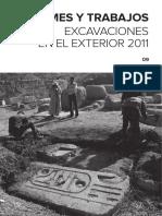 Ramos Et Al.2011.Informes y Memorias 2011.Instituto Del Patrimonio Cultural de España
