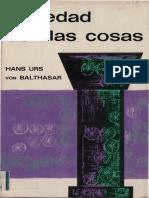 Balthasar  - Seriedad con las cosas - Sígueme 1968.pdf