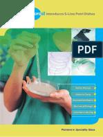 Petri Dish Leaflet-borosil