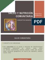 6.) Salud y Nutricon Comunitaria