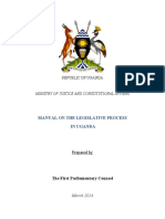 Legislative Process in Uganda