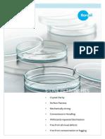S Line Petri Dish Borosilglass