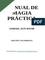 Samael Aun Weor Manual de Magia Práctica