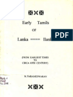 Early Tamils of Ilangai