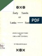 Early Tamils of Ilangai