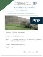 Informe de Hidrologia Extencion