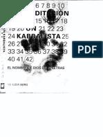 Berg Yehuda - Meditacion de Un Kabbalista El Nombre de Dios de 42 Letras
