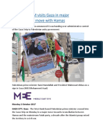 Palestinian PM visits Gaza in major reconciliation move with Hamas.docx