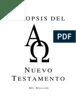 Sinopsis Del Nuevo Testamento - Apuntes