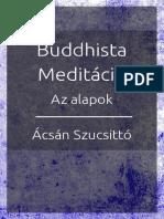 Acsan Szucsitto Buddhista Meditacio