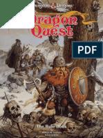 TSR Dragon quest Rulebook