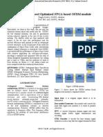 Highly Area & Speed Optimized FPGA based OFDM module