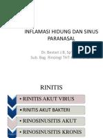 Kuliah Inflamasi H and Spn 2017